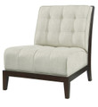 BELLE MEADE SIGNATURE FURNITURE CONNOR TUFTED SLIPPER CHAIR