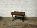 BELLE MEADE SIGNATURE FURNITURE TUFTED ELLA BENCH