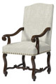 BELLE MEADE SIGNATURE FURNITURE JAMIE ARM CHAIR