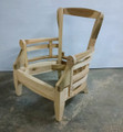 XS UPHOLSTERY FURNITURE UNFINISHED LOUNGE CHAIR FRAME