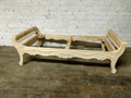 VANGUARD FURNITURE UNFINISHED / RAW CARVED BENCH FRAME