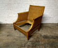 VANGUARD FURNITURE FINISHED / UNUPHOLSTERED RATTAN CHAIR FRAME