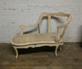 HENREDON FURNITURE SABINE CHAISE RAW / UNFINISHED FRAME
