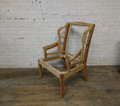 HENREDON FURNITURE RAW CHELSEA TRADITIONAL WING CHAIR FRAME