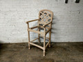 VANGUARD FURNITURE UNFINISHED / RAW LATTICE BACK BARSTOOL FRAME