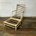 CENTURY FURNITURE UNFINISHED BISCAYNE CHAIR & OTTOMAN FRAME