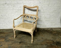CENTURY FURNITURE UNFINISHED POMPANO CHAIR FRAME