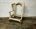 STICKLEY FURNITURE UNFINISHED CHERRY VALLEY WING CHAIR FRAME
