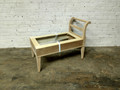 VANGUARD FURNITURE UNFINISHED / RAW LEFT  OR RIGHT BENCH FRAME