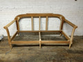 EJ VICTOR FURNITURE UNFINISHED / RAW CARVED SOFA FRAME