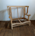 EJ VICTOR FURNITURE UNFINISHED / RAW WING CHAIR & 1/2  FRAME