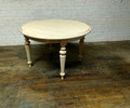 VANGUARD FURNITURE UNFINISHED GASTON ROUND DINING TABLE