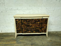 VANGUARD FURNITURE RAW / UNFINISHED TORTOISE SHELL  ACCENT CHEST