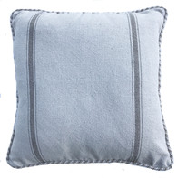 "Handwoven Cotton Domestic Pillow (18"" x 18"")"