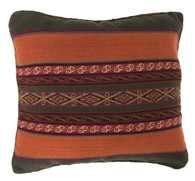 "Handwoven Traditional Woolen Natural  Dyed Pillow Peru (13"" x 16"")"