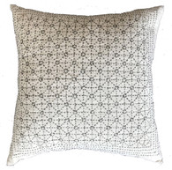 "Handwoven and Hand embroidered Pillow China ( 18"" x 18"")"