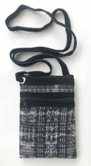 "Cross Shoulder Zipper Pouch Purse Guatemala (5.5"" x 7.5"")"