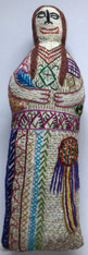 "Handmade Embroidered Doll 11 Guatemala (10"")"
