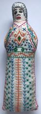 "Handmade Embroidered Doll 10 Guatemala (10"")"