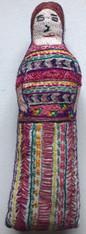"Handmade Embroidered Doll 7 Guatemala (10"")"