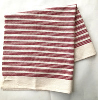 "Handwoven Cotton Hand Towel Hungary (21"" x 22"")"