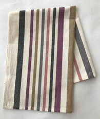 "Handwoven Organic Cotton Natural Dyed Hand B Towel India (20"" x 28"")"