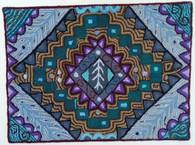 "Handmade Rug by Carmen Guatemala (24"" x 32"")"