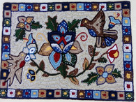 "Handmade Rug by Hilda Guatemala (24"" x 32"")"