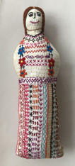 "Handmade Embroidered Doll A Guatemala (10"")"