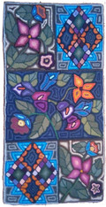 "Handmade Rug by Irma 2 Guatemala (24"" x 48"")"