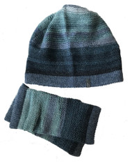 Hand Knit Alpaca Hat and Fingerless Mittens Ecuador