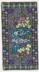 """Handmade Rug by Sheny Large Guatemala (25"""" x 48"""")"""