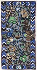 "Handmade Rug by Carmen Large Guatemala (24"" x 48"")"