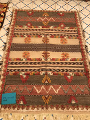 Handwoven Glaoui Rug Morocco (43 x 60)