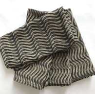 """Hand Block Printed Natural Dyed Cotton Napkins 3 India Set of 4 (18""""x 18"""")"""