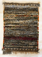 """Hand Knotted Pile Wool Rug Morocco (30"""" x 43"""")"""