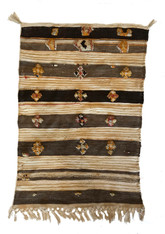 "Handwoven and Hand Knotted Glaoui Wool Rug Morocco (29"" x 42"")"