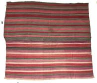 """Handwoven Woolen Blanket Frazada of Peru (60"""" x 64"""")"""
