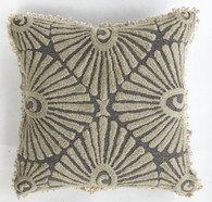 """Peru Woolen Hand Woven and Embroidered Pillow (15"""" x 15"""")"""