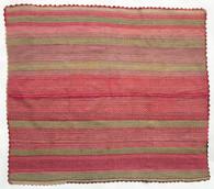 """Handwoven Woolen Blanket Frazada of Peru (53"""" x 61"""")"""
