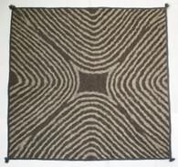 "Handmade Wool Felt  Square Rug Afghanistan (48"" x 48"")"