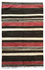 """Handwoven Flat Weave Wool Rug 2 Morocco (40"""" x 61"""")"""