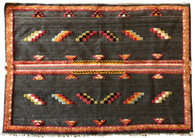 "Handwoven Glaoui Wool Rug Morocco (63"" x 44"")"