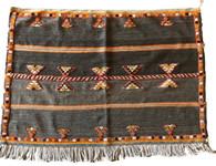 "Handwoven Glaoui Wool Rug  2 Morocco (62"" x 44"")"