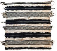 """Handwoven Flat Weave Wool Rug Morocco (60"""" x 64"""")"""