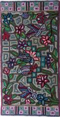 """Handmade Large Hooked Rug by Sheny Guatemala (24"""" x 48"""")"""