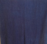 "Indigo Dyed and Hand Stitched Cotton Fabric India (45"" wide)"