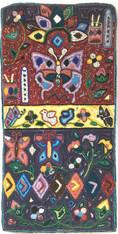 "Handmade Large Hooked Rug by Gloria 3 Guatemala (24"" x 48"")"