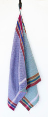 "Handmade Stitched Cotton Traditional Gamcha C Towel India (28"" x 58"")"