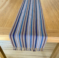 """Handwoven Cotton Table Runner A Guatemala (13.5"""" x 76"""")"""